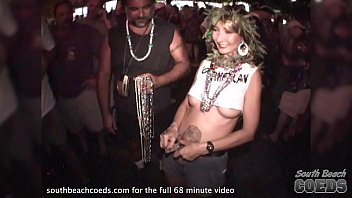 vintage party girl video from key wets florida