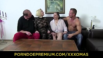 XXX OMAS - Huge boobs mature ladies have foursome