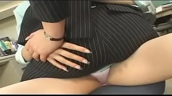 Lesbian Deep Kiss Contest 1 -- Scene 01 -- Rumi Yazawa & Reiko Mizuno, in Business Suits