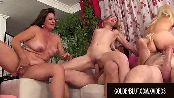 GoldenSlut - Mature Orgy Comp 2