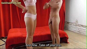Oiled Hot Lady Massaged