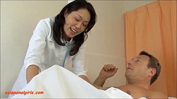 asian nurse sperm mouth anal and dp HD