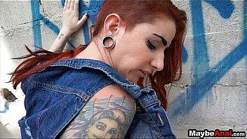 Redhead rocker chick assfucked in the ghetto Sheena Rose 2 2
