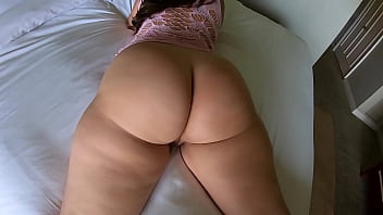 Big Ass and Natural Tits Plus a Shiny Treat!