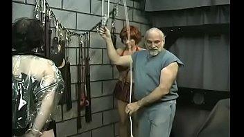 Rough lesbian bondage in amateur scenes along sexy babes