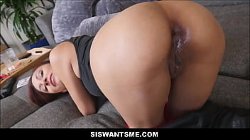 Hot Young Latina Stepsister Magic Trick On Stepbrother By Having His Dick Disappear In Her Asshole And Pussy POV