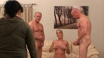 Behind the scene blonde girl
