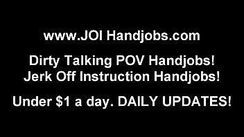 Jerk Off Encouragement Handjob POV Tube
