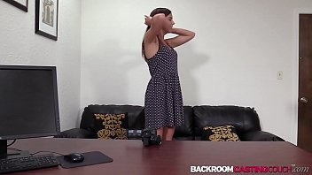 Amateur hole creampied in audition