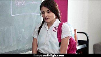Innocent High - Horny Professor Took Advantage Of Sweet Cute Teen (Adria Rae)