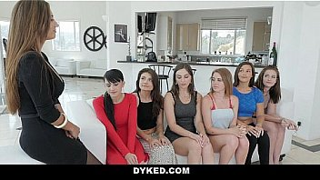 Dyked - Lesbian Orgy Of Sexy Pretty Girls (Reena)