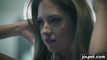 Rebecca Volpetti gets fucked in her micro bikini and swallows cum