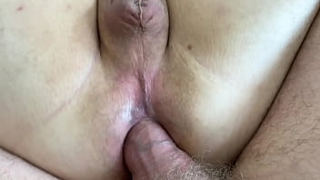 Hairy daddy bear sinks his huge girthy thick cock and cum into beefy cubs moaning ass nice and bare