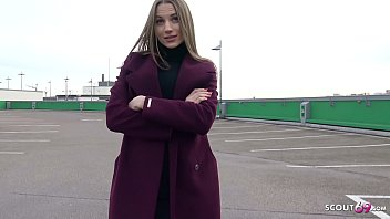 GERMAN SCOUT - CUTE RUSSIAN TEEN SEDUCE TO SEX FOR MONEY AT REAL STREET CASTING