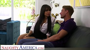 Watch Gia Milana gives it to her boss' man preview