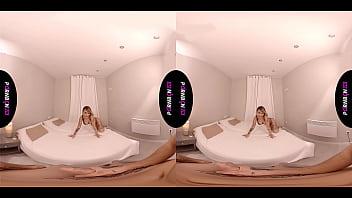 PORNBCN VR Samsung gear y PS4 // La pornstar Gina Snake te masturba con sus pies y hace un blowjob mas real que nunca // Cumshot virtual reality realidad virtual spanish porn milfs moms matures smoking