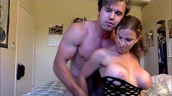 young jock fucks woman with big boobs