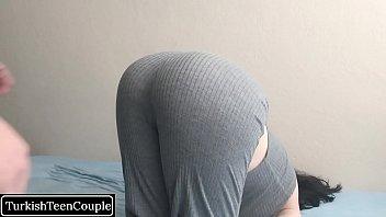Turkish slutty girl fucked by her friend