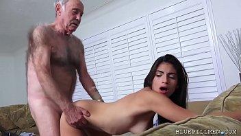 Latina Teen Fucks Old Man Frankie