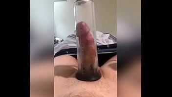Penis pumping porn