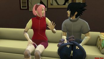 Watch Sakura Fucked by the clones of Naruto Gangbang in front of Husband Sleeping Cuckold preview
