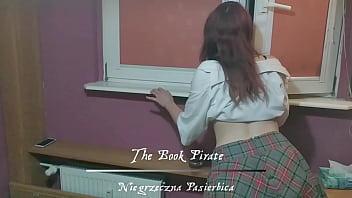 Book Pirate and Guinevra Cumalot stepdaughter smoking cigarettes punished