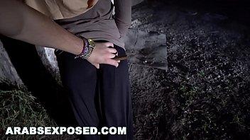 ARABS EXPOSED - Arab Hooker Shames Her Family By Selling Her Body To Slimeball