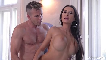 Busty hot babe Patty Michova gets her mind-blowing boobs fucked balls deep