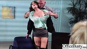 Hard Style Sex With Big Melon Tits Office Girl vid-25