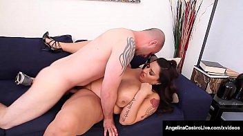 Huge Dick Hungry Latinas Angelina Castro & Sofia Rose eat their white meat whole as a lucky hard cock dude gets lost in their plump pussies! Full Video & Angelina Live @ AngelinaCastroLive.com!