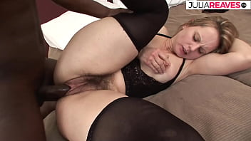 German mature housewife gets her hairy cunt fucked by bbc