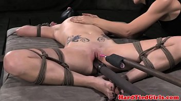 Woman Punished with toys