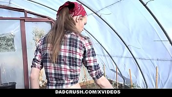 DadCrush - Cute Hairy Pussy Girl (TaliDova) Rammed by step daddy