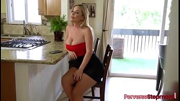 Big booty stepmother getting her pussy fucked by stepson with huge cock