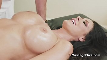 This milf with big juicy tits is ready for a deep penetration massage