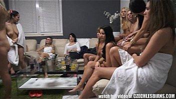 Hot Sexy Lesbian Orgy