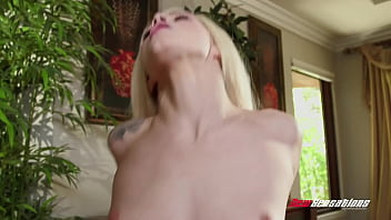 Tiny Teen Stepsis Elsa Jean is a Whore For Her Brother's Big Cock
