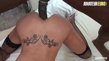 LA COCHONNE - #Lyna Cypher - Sexy French MILF Got Anal -ized By Black Cock