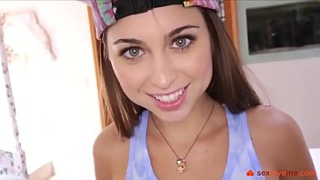 Blowjob from Riley Reid with Cum Swallow