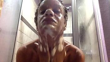 Saggy Boobs Hard Nipples Lots of Bubbles