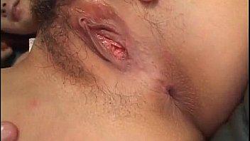 Kokoro Wakaba made to swallow after group fuck