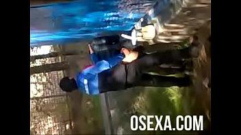 Uzbek outdoor sex hidden camera