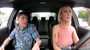Super Hot MILF Uber Driver Fucks Her Rider