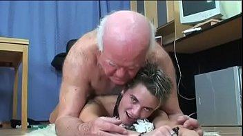 The old boss fucks the young secretary