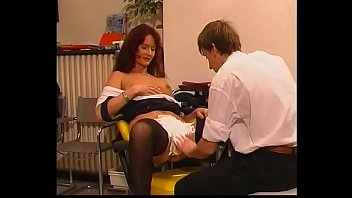 Boy Learning to Shave Milf