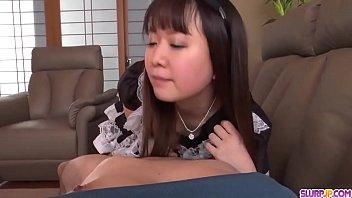 Hot japan girl Sakura Nozomi receive jizz