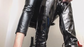 Shiny Boots Sounds Mesmerize Worship Mistress
