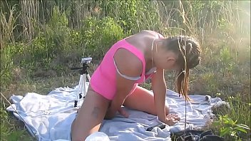Watch Young Teen Sadee Rain Gets Train On How To Please A Man With A huge Dick & Cum Swap In Public preview