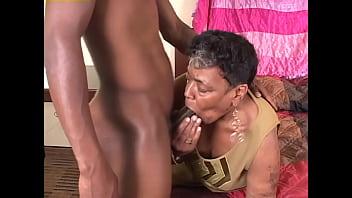A mature black grandma should be knitting some socks, but she wants to fuck instead - Elizabeth Sweet, Money Rea, Vanessa Bazoomz