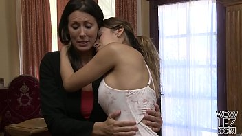 Busty lesbians having sex